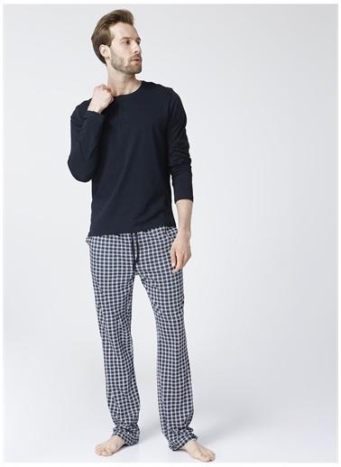 Fabrika Pijama Takım Lacivert